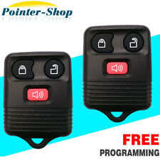 2 New Replacement Keyless Entry Remote Key Fob Clicker Car Transmitter For Ford