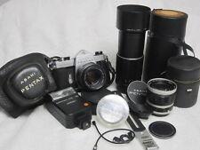 Asahi Pentax Spotmatic 35mm SLR Camera with SMC Takumar 50mm f/1.4 Lens bundle