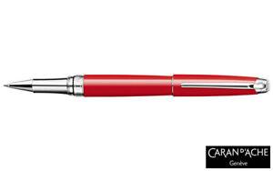Caran-d-039-Ache-Leman-Scarlet-Red-Silver-Rollerball-Pen-4779-770-40-OFF