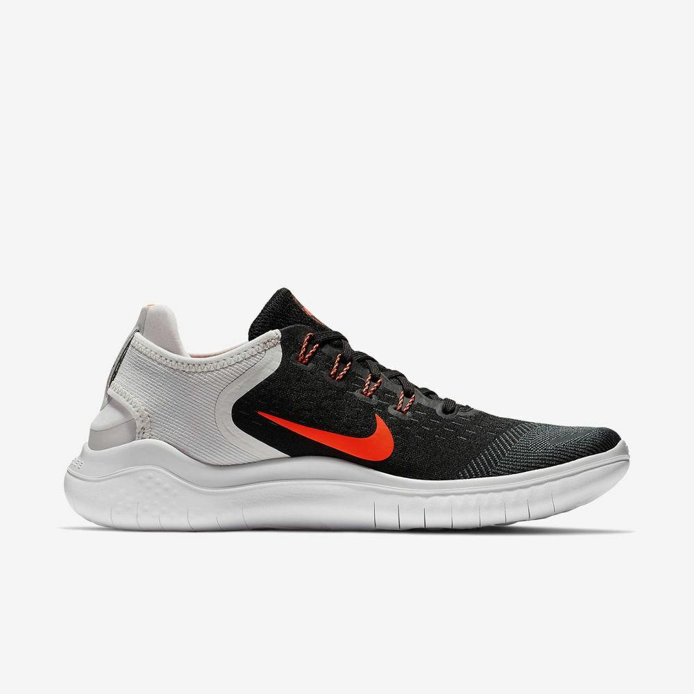 Nike Free Run Run Run 2018 Black Grey Red Size 12. 942836-005 epic react air max 4d9026