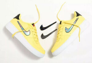 Nike-Air-Force-1-LV8-3-GS-Youth-AR7446-700-Yellow-UK-4-EU-36-5-US-4-5Y-New