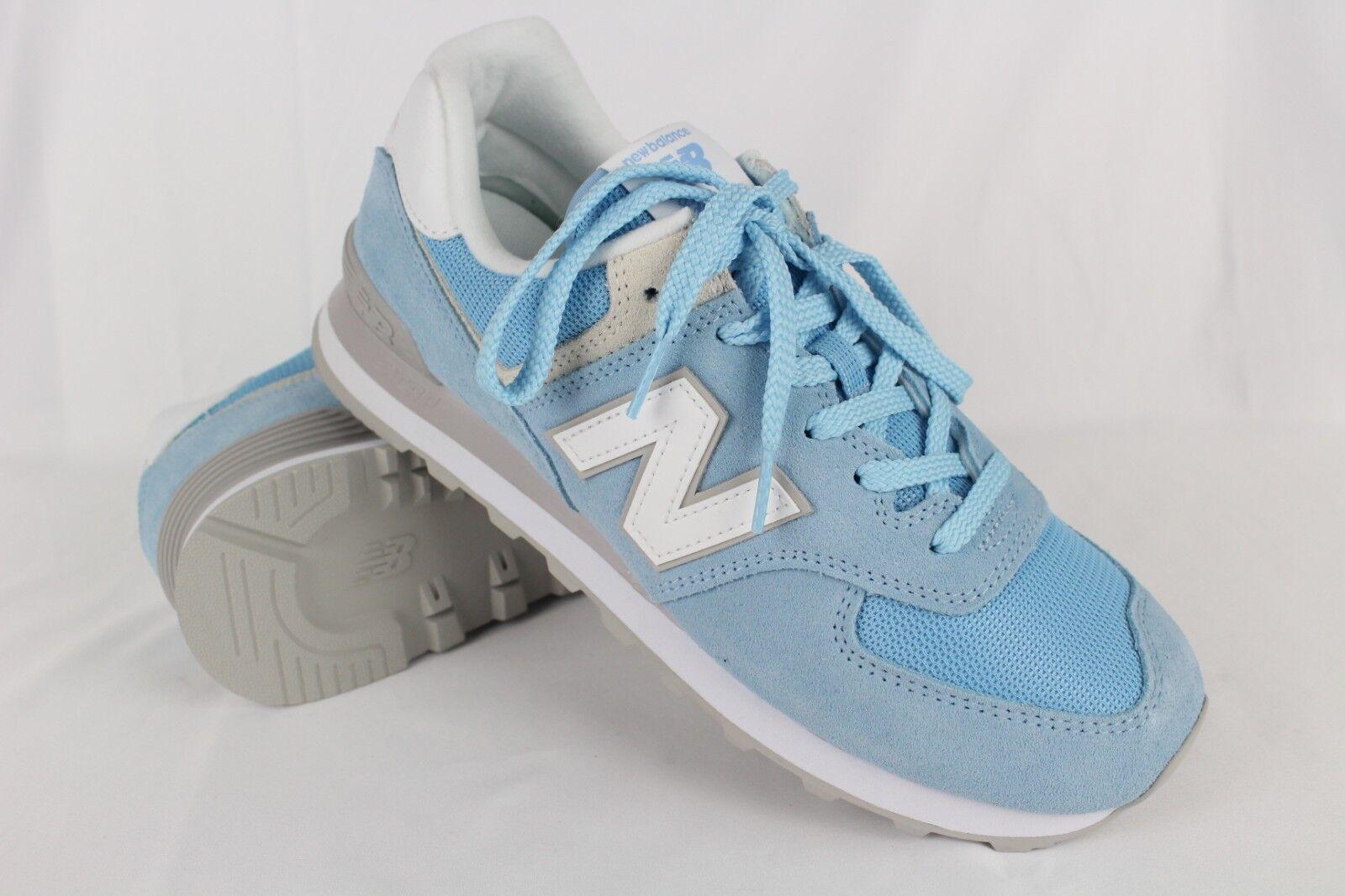 New Balance Women's 574 Classics Running Sneakers Size 10B Sky Blue WL574ESB