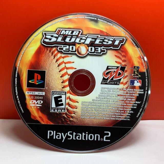 MLB SlugFest 20-03 (Sony PlayStation 2) DISC ONLY 19458