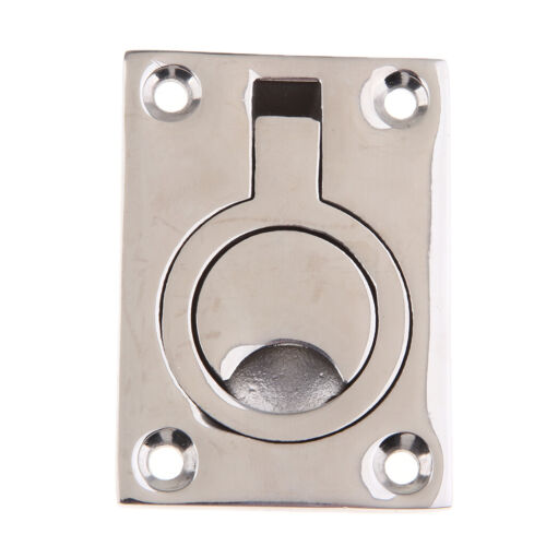 Floor Latch Floor Lift Handle Buckle Stainless Steel Flush Pull Ring Yacht