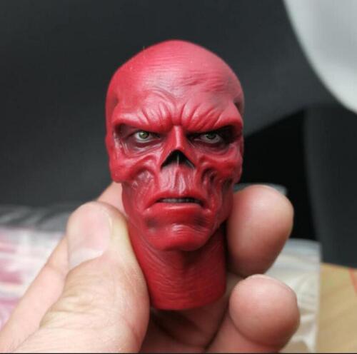 1//6 Red Skull Head Sculpt Hugo Weaving for Captain America Hot Toys ❶US seller❶