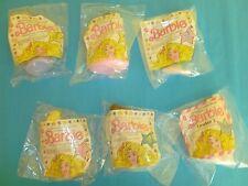 McDonald's Happy Meal Toys Vintage Barbie Dolls 1990 set of 6 NIP Lot 2