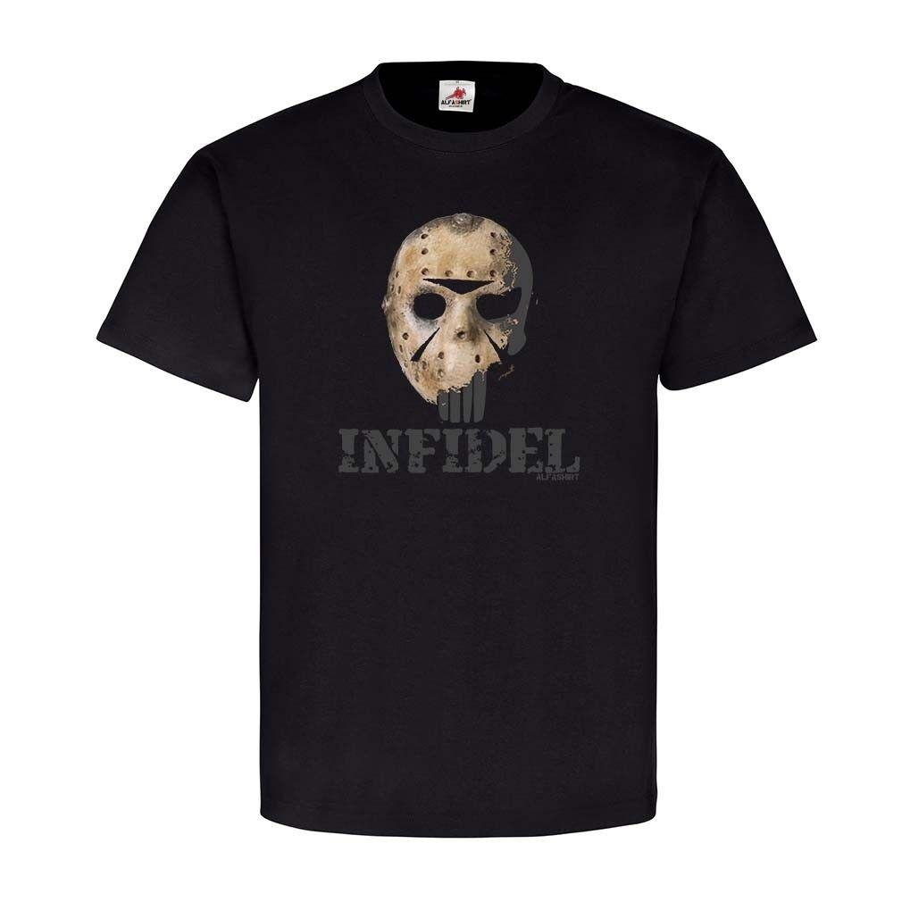 Infidel Skull Alfashirt Skimaske American Sniper Soldat