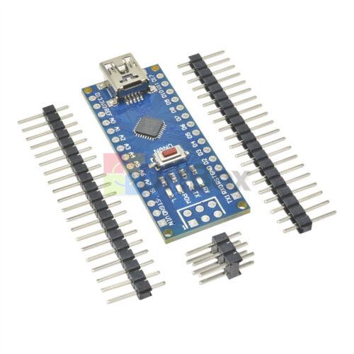 USB Nano V3.0 Atmega 328 16M 5V Micro-Controlador Controlador Placa CH340G para Arduino