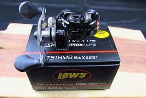 6.8:1 TS1HMB Lew/'s Tournament MB Speed Spool LFS Baitcast Reel