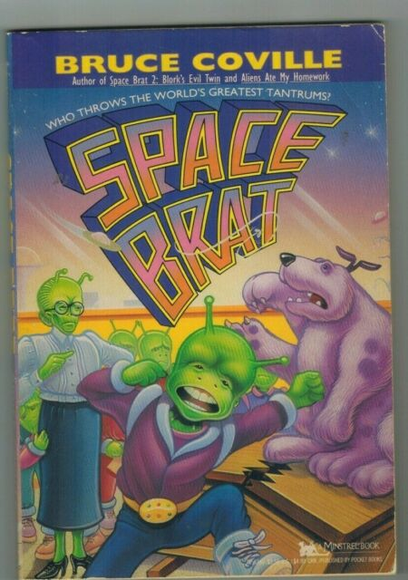 Space Brat: Blork's Evil Twin No. 2 by Bruce Coville (1993, Hardcover)