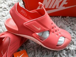 size 40 c11c4 a7a3d Image is loading NIKE-SUNRAY-PROTECT-2-SWIM-SANDALS-SIZE-UK-