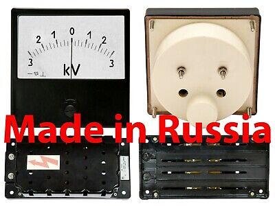 0-1000V DC±1.5/% 80x80mm Russian M42300 Voltmeter analog panel meter volt voltage