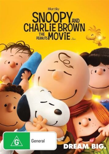 1 of 1 - Snoopy And Charlie Brown - The Peanuts Movie (Dvd) Childrens, Kids Family Film