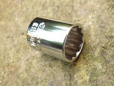 """Britool Expert 13mm Zócalo superficial, unidad 3/8"""", 12 puntos, nuevo."""