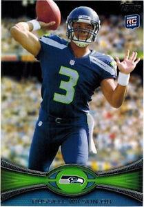 2012 Topps Russell Wilson 165 Football Card