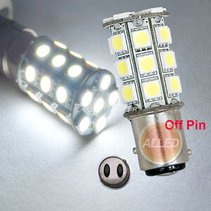 12V-LED-BA15D-Bulb-Caravan-Car-Truck-Trailer-Brake-27SMD-Turn-Reverse-tail-Lamp