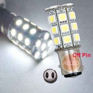 12V-LED-BA15D-Bulb-Caravan-Car-Truck-Trailer-Brake-27SMD-Turn-Reverse-tail-Lamp