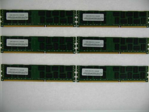 MEMORY FOR HP WORKSTATION Z800 ** 6X8GB 48GB