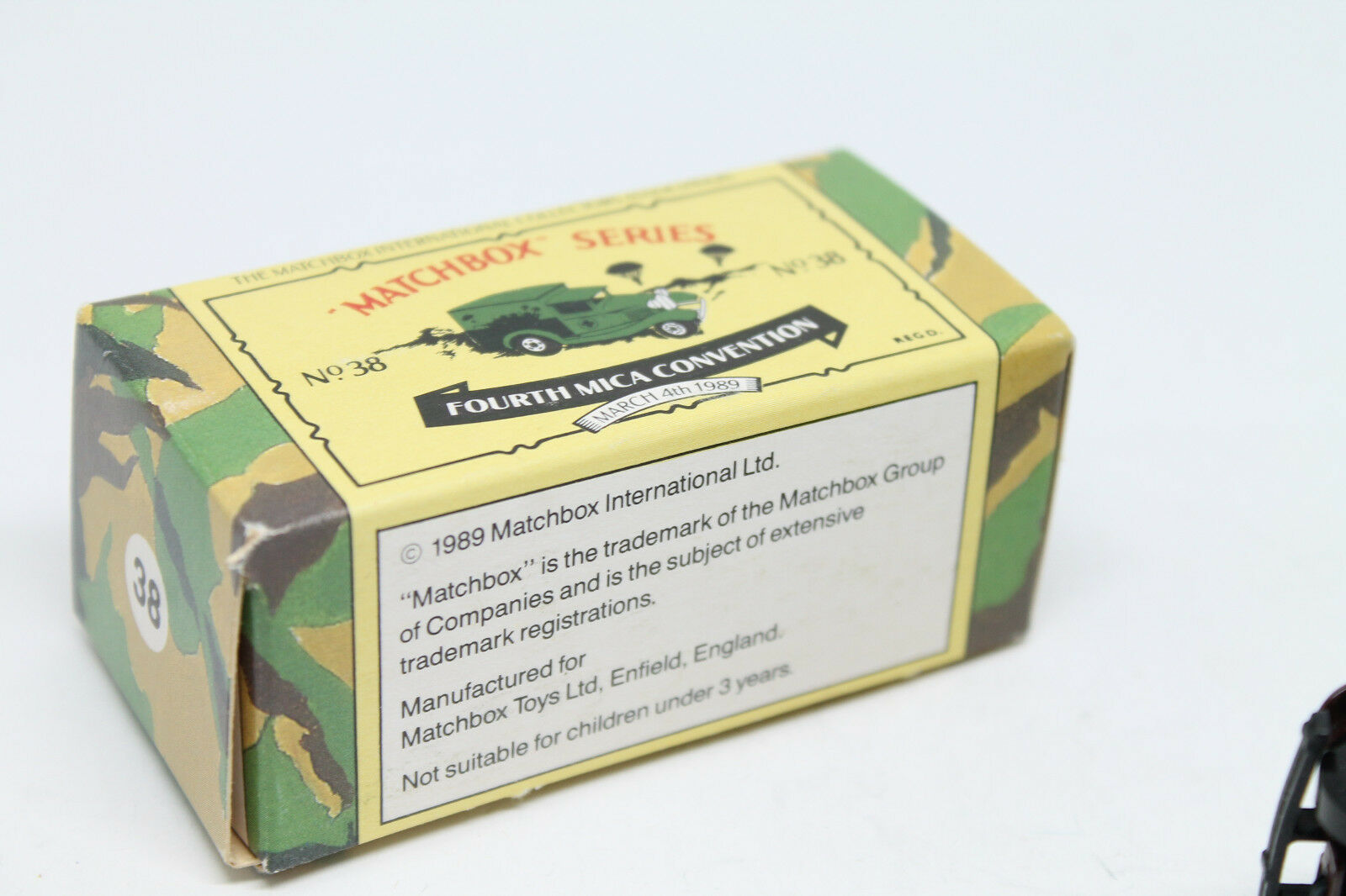 MATCHBOX  MICA MICA MICA 4th 1989 Aldershot British Army  MODEL A FORD  Neuf dans sa boîte  Limited 9bbef9