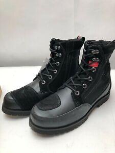 Sidi-Arcadia-Leather-Urban-Motorcycle-Motorbike-Boots-Black-42