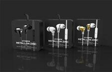Genuine Gavio Metallon Zinc In Ear Headphones Earphones Headset White NEW RRP£25