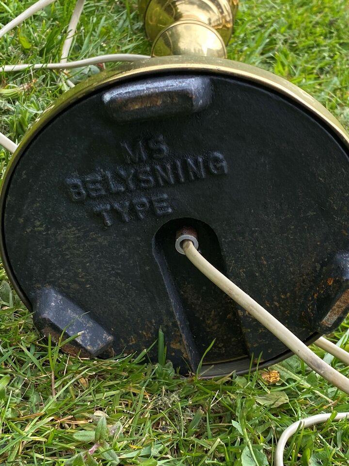 Anden bordlampe, MS Belysning