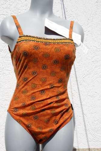 2018//19 stagione 703238-050 Costume da bagno solare con spalline sottile Arancione 38 Coppa B