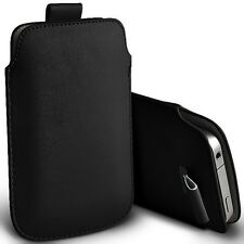 BLACK PULL TAB MOBILE PHONE CASE COVER FOR BINATONE M250 BIG BUTTON