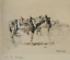 Etching-of-Saddled-Horses-by-William-Robinson-Leigh-United-States-1866-1955 thumbnail 2