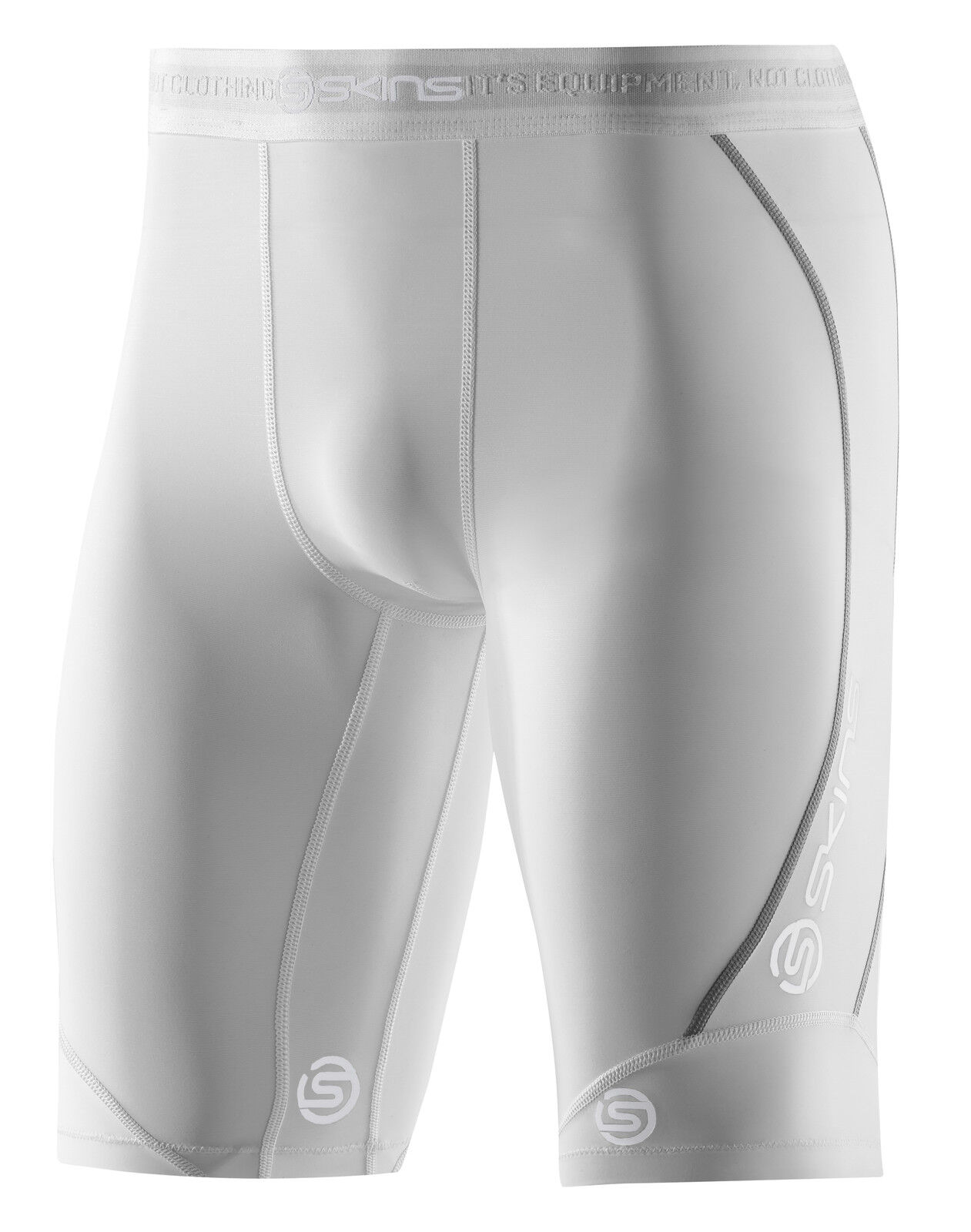 Skins dnamic Compression Half Tight Herren Weiß (da99050029005)