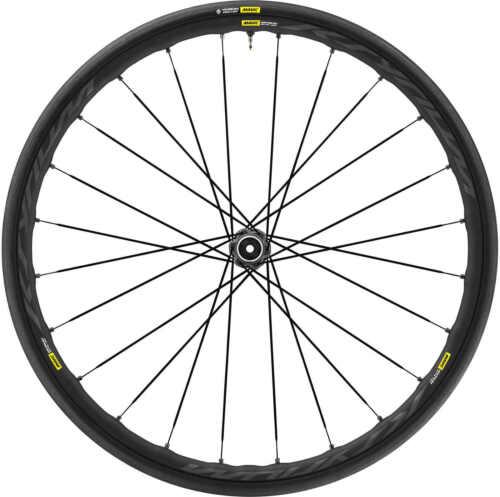 Mavic Ksyrium Elite UST Disc 700x25c Centre Lock Front Wheel Black