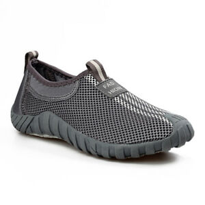 Men-039-s-Summer-Breathable-Mesh-Shoes-Lightweight-Slip-On-Loafers-Walking-Sneakers