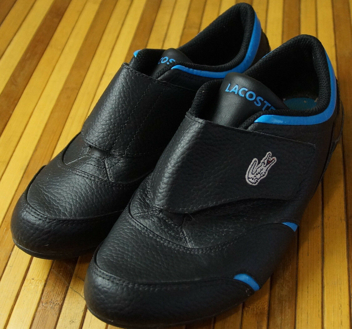 Lacoste Sport Zapatos UK5 EU38 multi-textura de de de cuero acento Azul Ciclismo Caminar  edición limitada