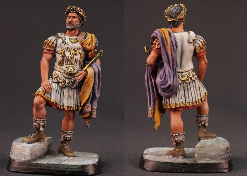 Tin toy soldiers ELITE painted 54 mm Publius Traianus Hadrianus Augustus, R