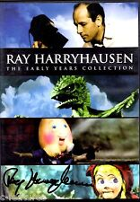 RAY HARRYHAUSEN The Early Years 2-DVD Set NTSC Region 1 OOP Rare AUTOGRAPHED!