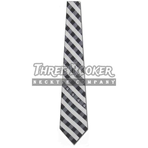 Oakland Raiders Tie Raiders Neckties Mens Licensed Football Neck Ties NWT