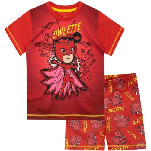 PJ Masks Short Pyjamas I Kids PJ Masks Owlette Pyjamas I PJ Masks Jammies