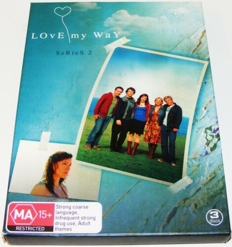 1 of 1 - Love My Way : Series 2--- (DVD, 2006, 3-Disc Set)
