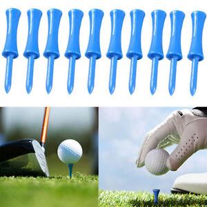 Plastic-Castle-Golf-Tees-Blue-Colours-One-Sizes-68mm-10Pcs