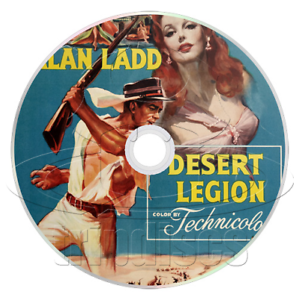 Desert Legion (1953) Action, Adventure Movie / Film on DVD