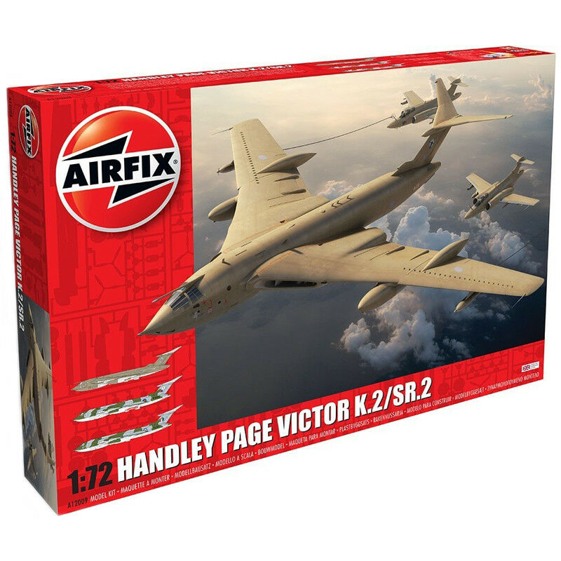 Airfix Handley Page Victor K.2 SR.2 (Scale 1 72) A12009 Aircraft Model Kit NEW