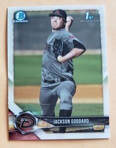 2018 Bowman Draft Chrome Sparkles Refractor #BDC-147 Jackson Goddard Rookie Card
