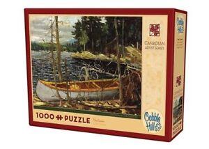 Cobblehill-Puzzles-1000-pieces-The-Canoe-CBL51017-Jigsaw-Puzzle