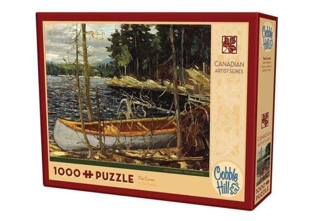 Cobblehill Puzzles 1000 pieces - The Canoe CBL51017 Jigsaw Puzzle