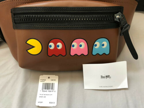 EUC Limited Ed. Coach X Pac-man Belt Bag $328