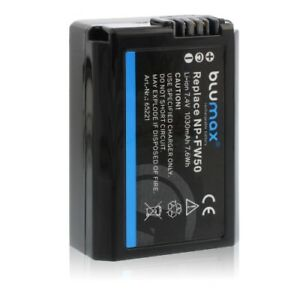Battery-Battery-Battery-for-sony-NP-FW50-with-Li-Ion-and-1030mAh-by-blumax-New