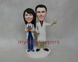 Image Is Loading Doctor Cake Topper Custom Wedding Personalized