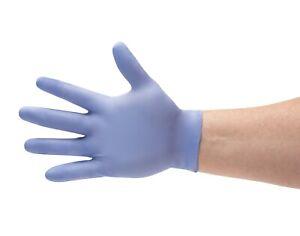 Disposable Gloves Small,Medium,Large,XLarge Blue Powder Free, SMALL Powdered//Powder Free//Blue Powder Free Vinyl Gloves