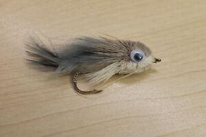 Whitlock Walker Bait Fish, Hecht Fliege, Streamer 2 Stk
