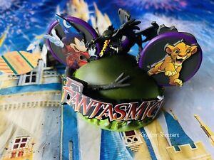Disney Hollywood Studios Fantasmic Mickey Dragon Ear Hat Ornament